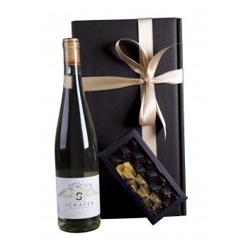Geschenkpaket - Ingwerwein & Dunkle Schokolade