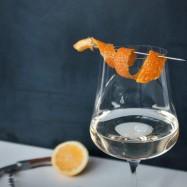 Ingwerwein im Glas